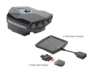 Blackburn Flea USB Front Light + Solar Charger