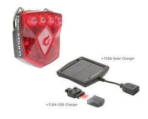 Blackburn Flea USB Rear Light + Solar Charger
