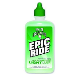 White Lightning Epic Ride Light Lube  4 oz. Bottle