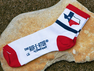 Texas Flag Socks by DeFeet