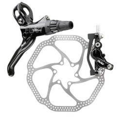 Avid Elixir 9 Hydraulic Rear Disc Brake Caliper and Rotor