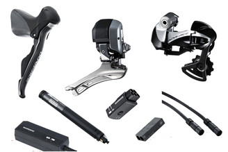Shimano Dura-Ace 9070 Di2 7 piece Conversion Kit
