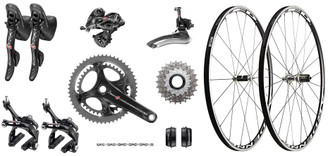 Campagnolo Super Record Ergo Groupset with Choice of Wheelset