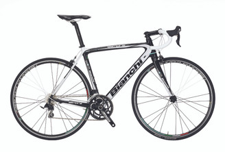 Bianchi B4P Sempre Pro Shimano STI equipped Carbon Bicycle, White - Build It Your Way