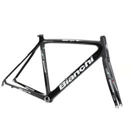 Bianchi B4P Sempre Pro Frameset, Black