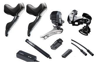 Shimano Dura-Ace 9070 Hydraulic Di2 7 piece Conversion Kit