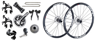 Shimano Dura-Ace 9070 Hydraulic Di2 Groupset with Choice of Wheelset