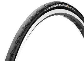 Continental Grand Prix 4000-S II Clincher Tire, Black