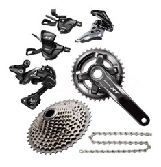 Shimano Deore XT 8000 Groupset with M8000 Chainrings (less brake levers & calipers)