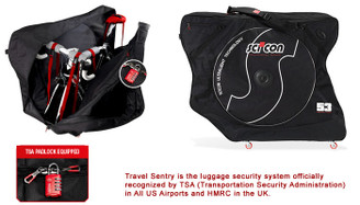 Sci-Con AeroComfort Plus 2.0 TSA Bike Travel Case