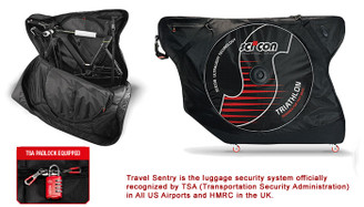 Sci-Con AeroComfort Plus Triathlon TSA Bike Travel Case