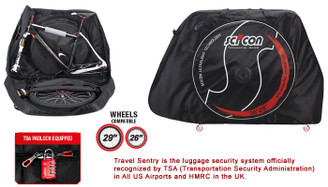 Sci-Con AeroComfort Plus MTB TSA Bike Travel Case
