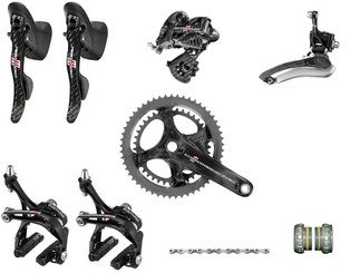 Campagnolo Record Ergo Groupset (less cassette)