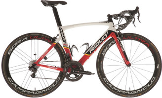 Ridley Noah SL SRAM eTap equipped Carbon Bicycle, White & Red Accents - Build It Your Way
