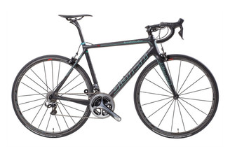 Bianchi Specialissima SRAM eTap equipped Carbon Bicycle, Black - Build It Your Way