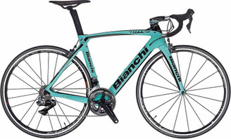 Bianchi Oltre XR.4 SRAM eTap equipped Carbon Bicycle, Matte Celeste Green - Build It Your Way