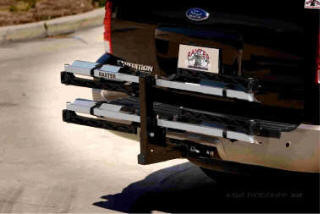 """Raxter 2 Bicycle Folding Rack for 2"""" Hitch"""