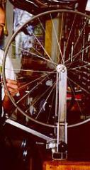 Chris King Classic Mavic CXP-33 Front Wheel