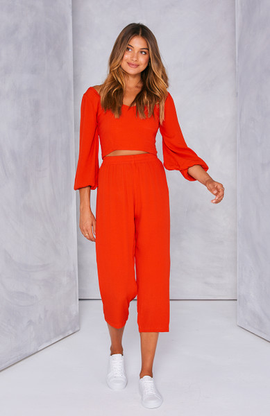 Paloma Pant - Red
