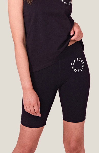 Luna bike Short - Black Orbit
