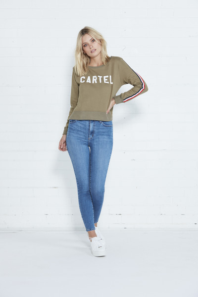 Cartel Sweater - Khaki