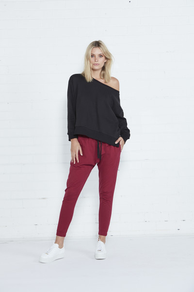 Kenji Comeback Pants - Berry