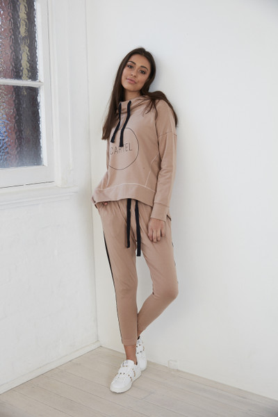 Sage Hooded Jumper - Blush
