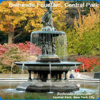 New York Scenery Cleaning Cloths: Bethesda Fountain