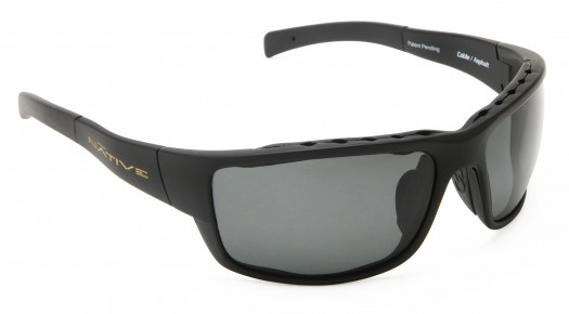 6b52e53616405 Native Eyewear Polarized Sunglasses  Cable in Asphault   Grey ...