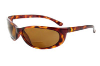 Sun-Mag+ Polarized Bi-Focal Sunglasses Readers in Tortoise & Amber