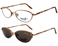 Magnetic Clip-On 722 Polarized Reading Sunglasses