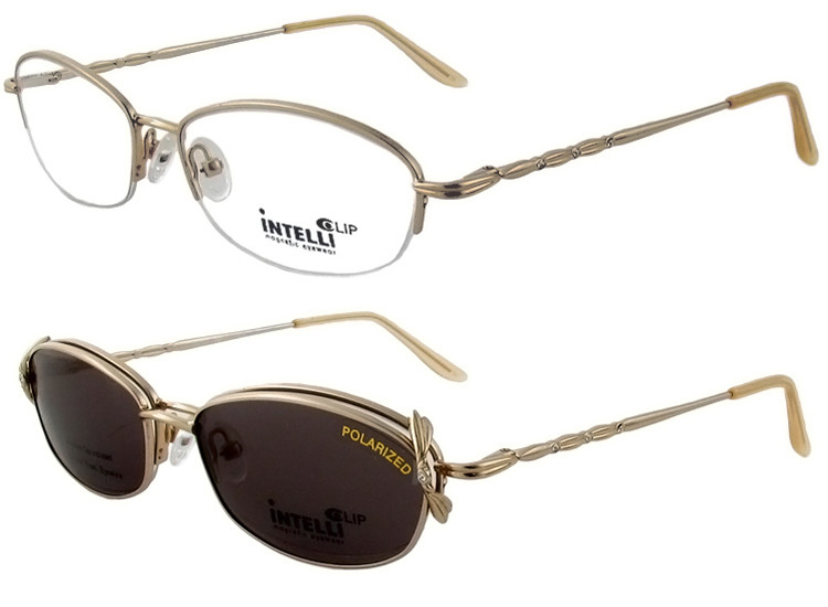 00198a747c5 Magnetic Clip-On 716 Polarized Reading Sunglasses - Polarized World