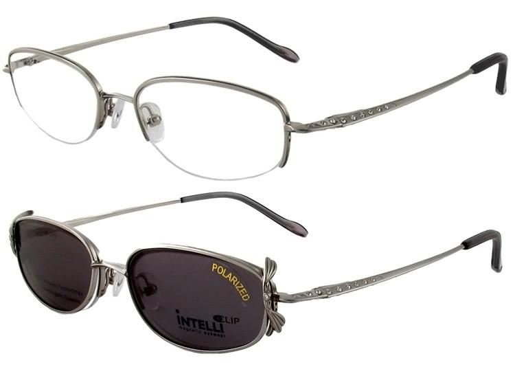 760f04b4b7e Magnetic Clip-On 747 Polarized Reading Sunglasses - Polarized World