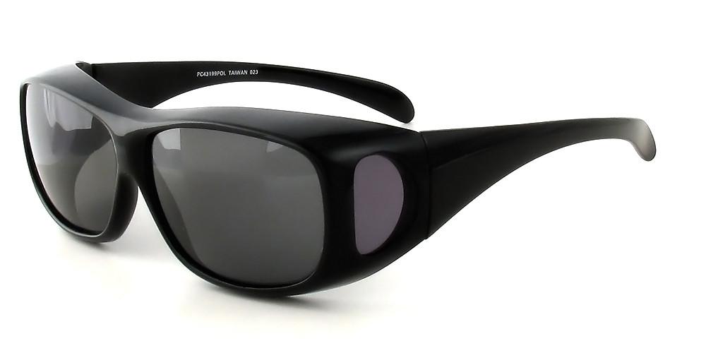 Black Frame & Grey Lens