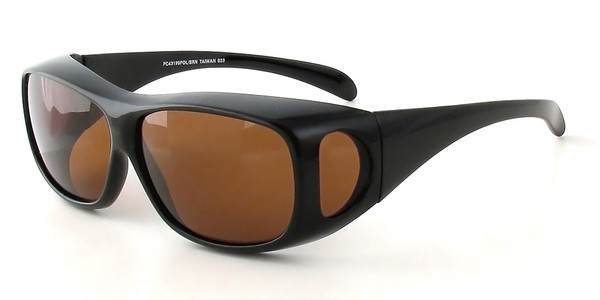 Black Frame & Amber Lens
