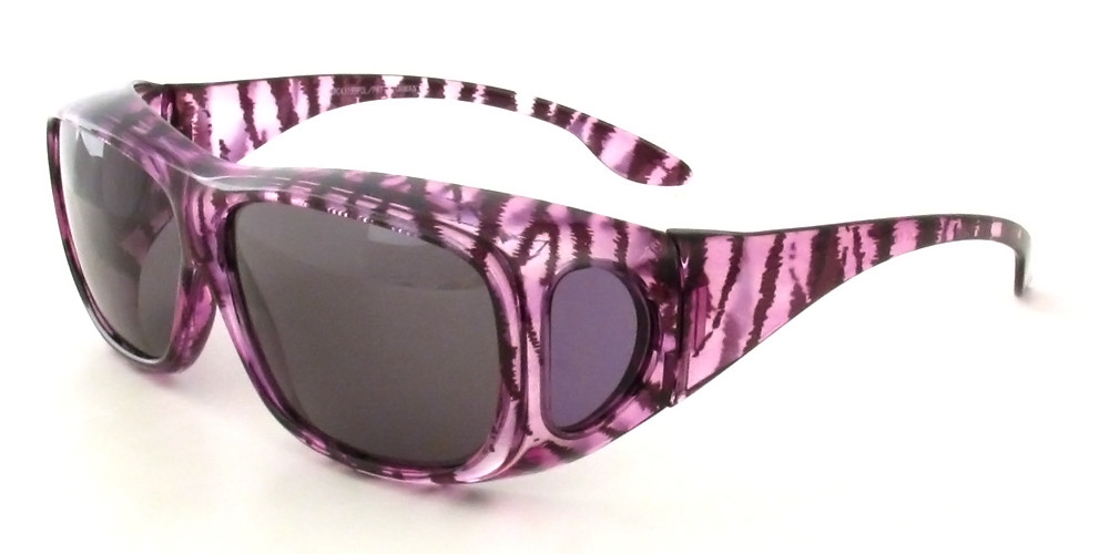 Clear-Purple-Zebra & Grey
