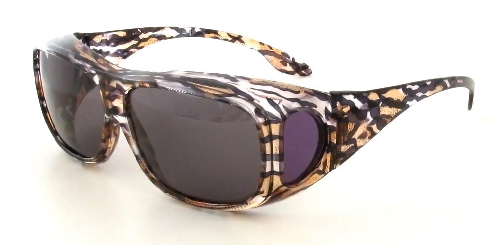 Clear-Brown-Cheetah & Grey