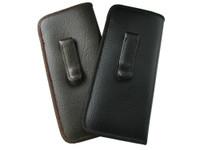 Mens Soft Slip-In Case w/ Metal Clip Jumbo Sized