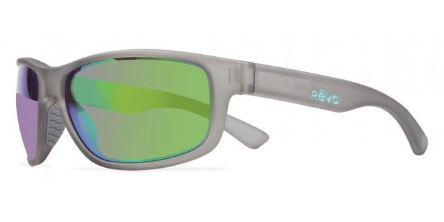 2283302ff42 REVO Designer Sunglasses Baseliner in Crystal   Green Mirror ...