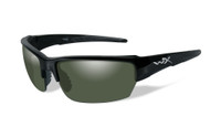 Wiley-X™ Saint in Gloss-Black & Polarized Green Lens