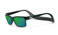 Hoven Eyewear MONIX in Black Gloss with Dark Grey & Green Polarized