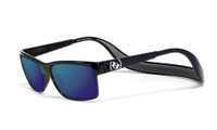 Hoven Eyewear MONIX in Black Gloss with Dark Grey Tahoe & Blue Polarized