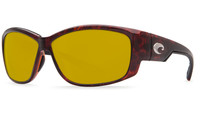 Costa Del Mar™ Polarized 580P Sunglasses: Luke in Tortoise & Sunrise Lens