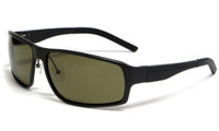 Calabria Viv Sunglass Collection 774S in Black & Polarized Green