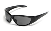 Grand Banks™ Polarized Bi-Focal Readers: 473BF in Gloss-Black & Grey