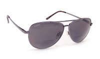 Coyote™ BP-12 Polarized Bi-focal Reading Sunglasses in Gunmetal