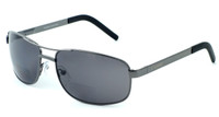 Coyote™ BP-16 Polarized Bi-focal Reading Sunglasses in Gun