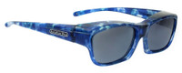 Jonathan Paul® Fitovers Eyewear Kids Extra-Small Choopa in Blue-Blast & Gray CH001