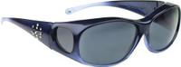 Jonathan Paul® Fitovers Eyewear Medium Element in Sapphire & Gray EM005S