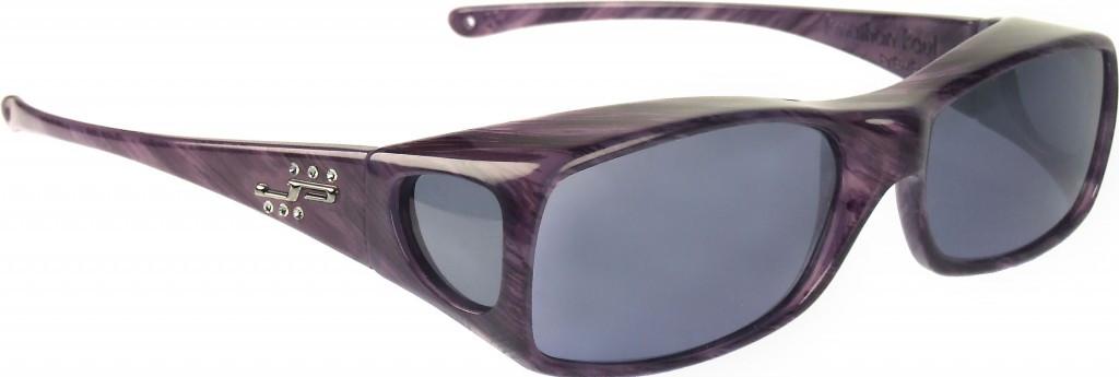 70148451b1 Jonathan Paul® Fitovers Eyewear Large Aria in Purple-Heart   Gray ...